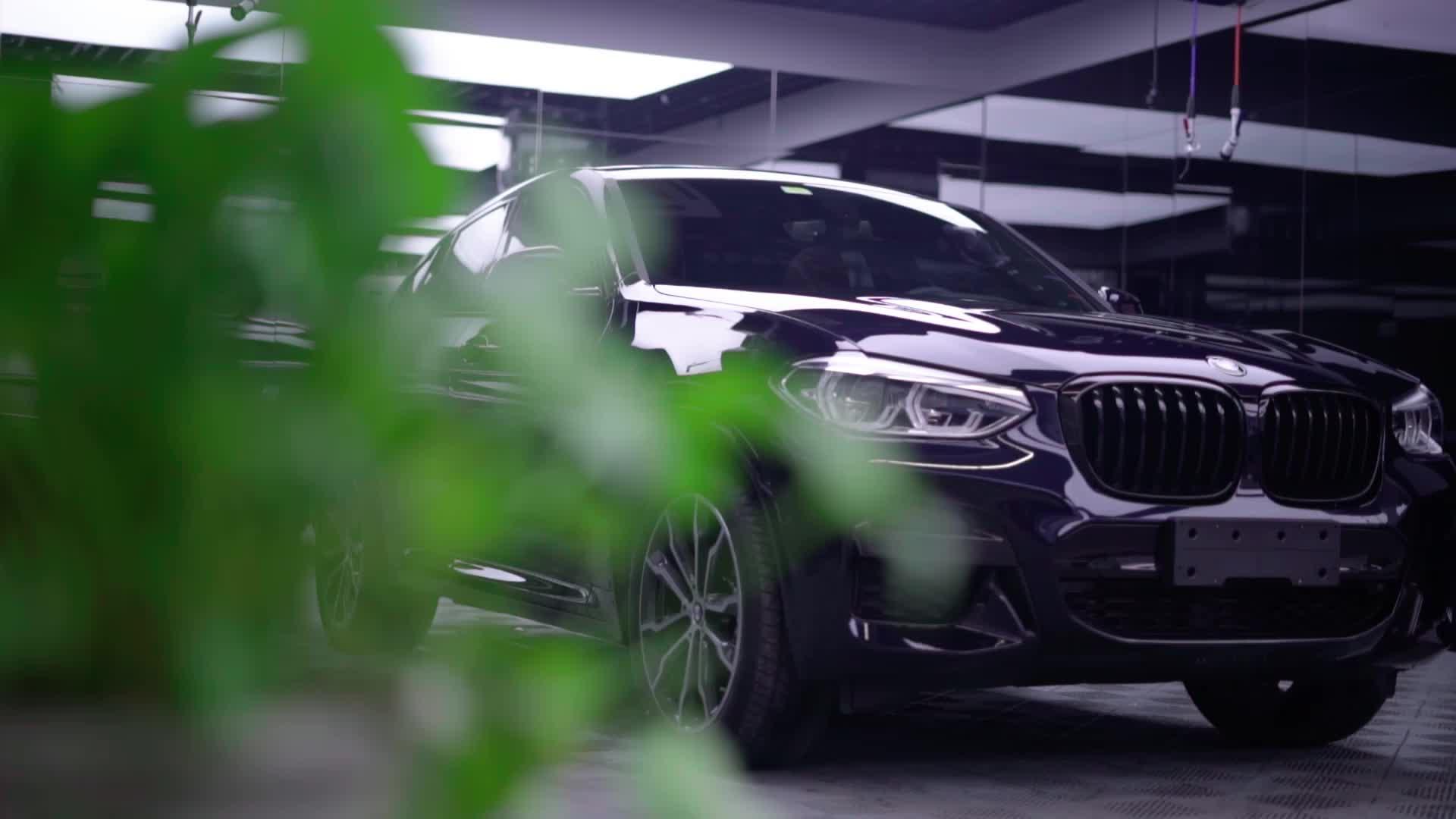 宝马X4装贴威固隐形车衣视频